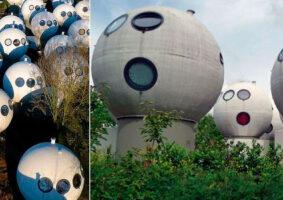 Essas casas esféricas da Holanda dos anos 80 são habitadas até hoje