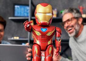 Robô do Homem de Ferro traz missões em realidade aumentada