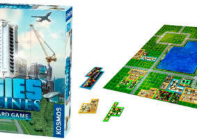 Jogo de tabuleiro de Cities: Skylines funciona em modo cooperativo