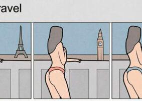 A cultura do Instagram retratada em seis ilustrações