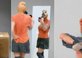 Híbridos: Esculturas de pessoas animais por Alessandro Gallo