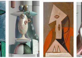 Artista recria obras de Picasso em 3D