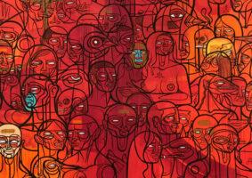 A criatividade na arte de Doze Green após mudar para o Brasil