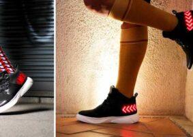 Tênis com LEDs E-Sneakers é a cara do futuro