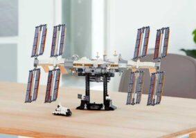 Set da Estação Espacial Internacional de LEGO se torna realidade