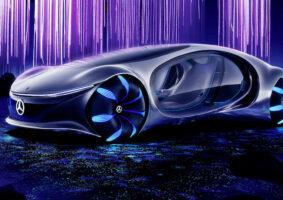 Mercedes-Benz cria conceito de carro inspirado em Avatar