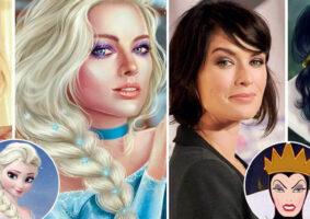 19 Celebridades como personagens da Disney