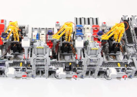 A fábrica de carros LEGO que funciona de verdade
