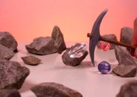 Escultor cria stop-motion sobre mineração de joias