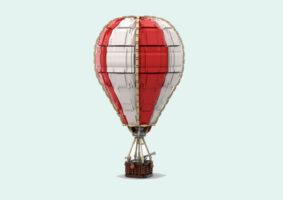 Um Balão LEGO enorme proposto no LEGO Ideas
