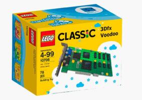 LEGO da VooDoo 3D, a placa topo de linha dos anos 90