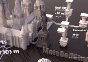 Vídeo compara o tamanho de edifícios de filmes e videogames