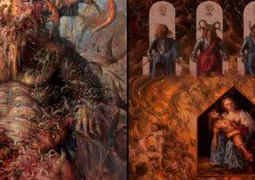 A putrefativa arte blasfema de Paolo Girardi