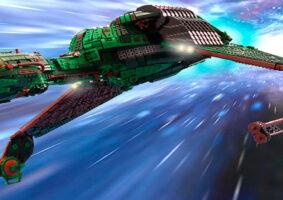 Nave Klingon Bird of Prey de LEGO leva 25 mil peças