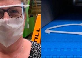 LEGO produz protetores para o rosto para lutar contra pandemia