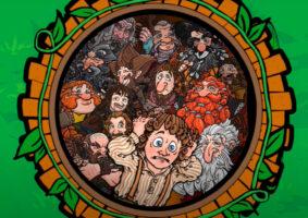 O jogo de tabuleiro The Hobbit: An Unexpected Party
