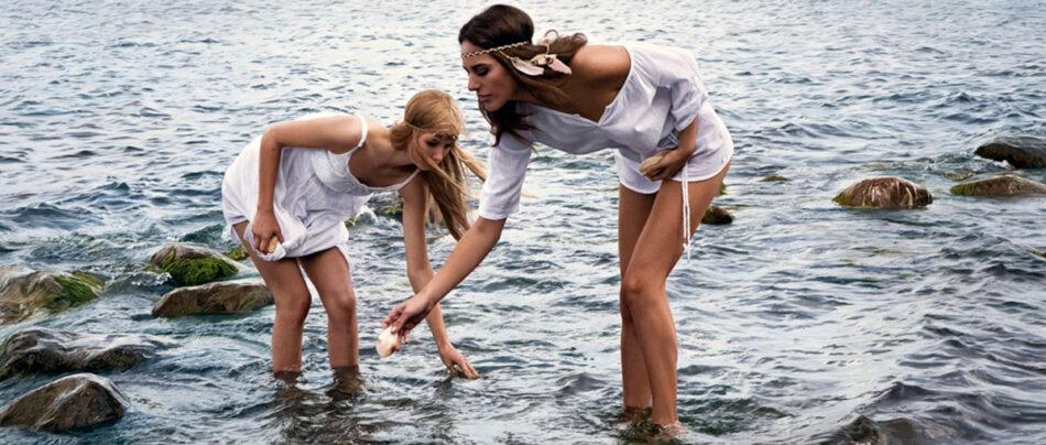 As artes hiper-realistas de mulheres que parecem fotografias