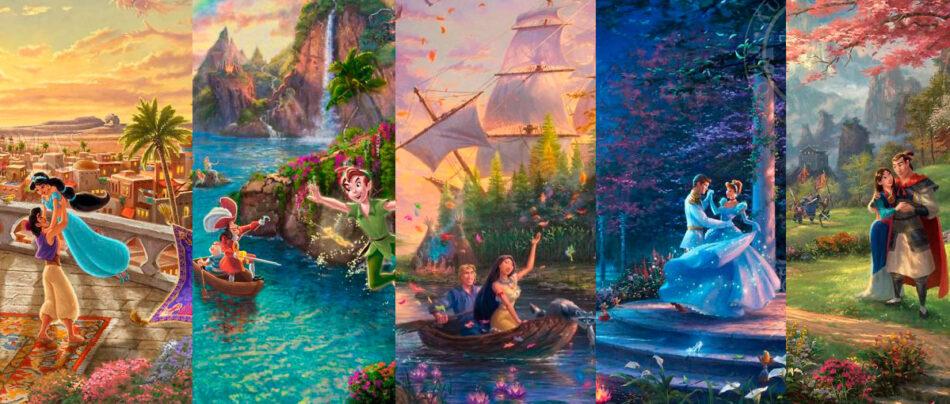 30 Pinturas da Disney mais bonitas que os próprios filmes