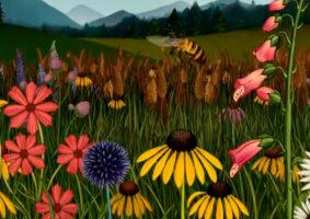 A História das Flores