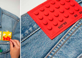 Coleção Levi's da LEGO traz jeans, blusas e bonés customizados
