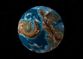 Mapa mostra como era a Terra até 750 milhões de anos atrás