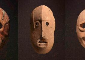 As máscaras mais antigas do mundo têm mais de 9 mil anos