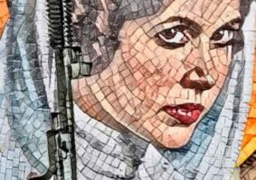 Artista cria Mosaicos do Star Wars