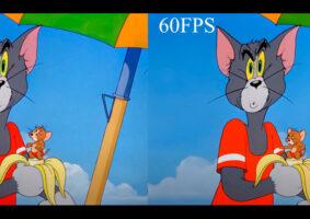 Vídeo traz Tom e Jerry a 60 FPS