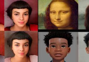 IA transforma personagens animados em realistas