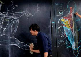 As incríveis aulas de desenho de anatomia de Wannarit Karin
