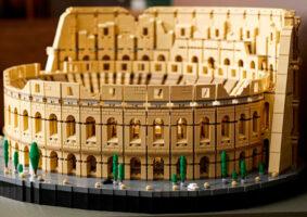 O LEGO do Coliseu da Roma Antiga