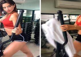 Modelo tailandesa mostra a realidade por trás do Instagram