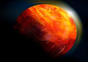 O planeta infernal que chove pedras e tem oceanos de lava
