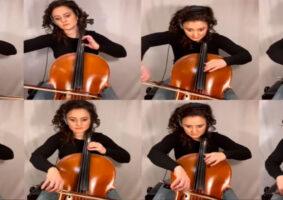 A abertura de Animaniacs em 8 cellos