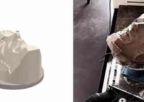 Disney cria robô que esculpe argila
