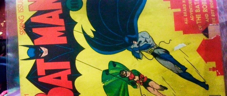 Exemplar de Batman Número 1 é vendido por US$ 2,2 milhões