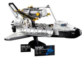 LEGO do Ônibus Espacial Discovery vem com réplica do Hubble
