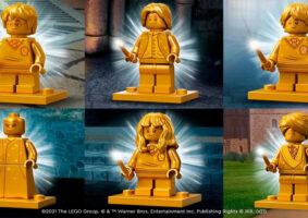 Minifiguras douradas LEGO Harry Potter celebram 20 anos da franquia