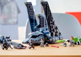 LEGO do Star Wars The Bad Batch traz nave gigante de ataque