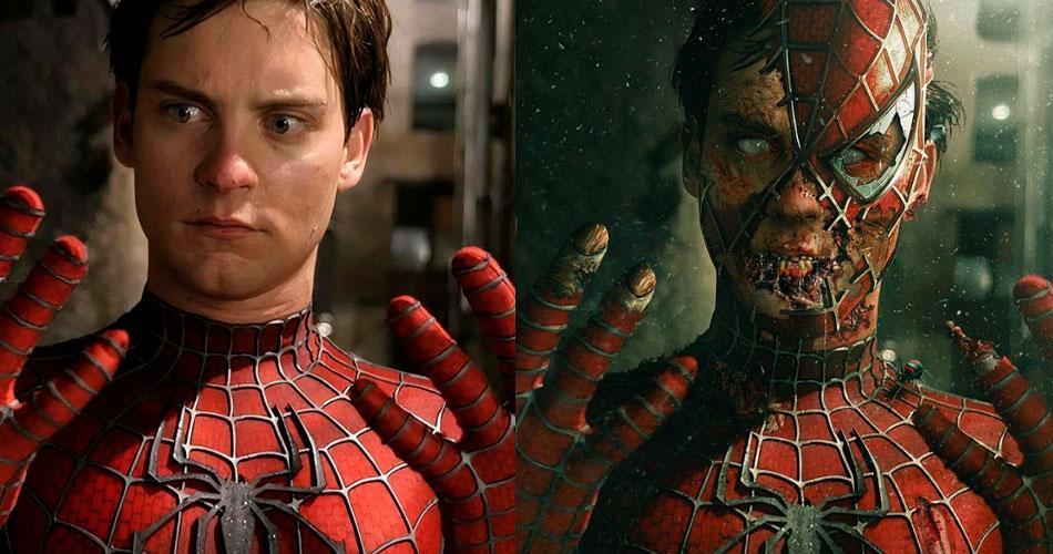 Artes imaginam Homem-Aranha como zumbi