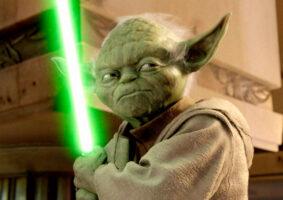 Como seria se Yoda falasse normalmente?