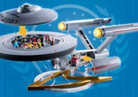 Enterprise da Playmobil: a enorme nave do Star Trek