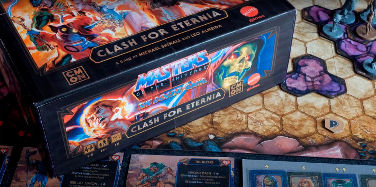 Novo jogo de tabuleiro dos Mestres do Universo chega ao Kickstarter